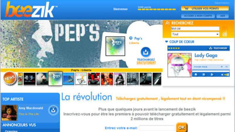 Beezik annonce la première offre légale et gratuite de téléchargement de musique