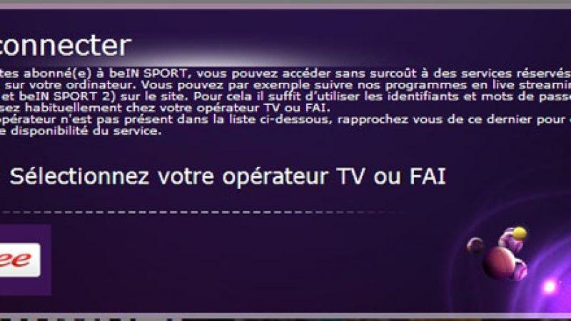 Nouveau : les Freenautes abonnés à beIN Sport peuvent regarder la chaîne hors de chez eux