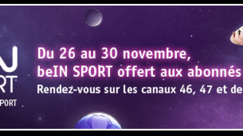 Free : Les chaînes beIN SPORT gratuites durant 5 jours pour les Freenautes !