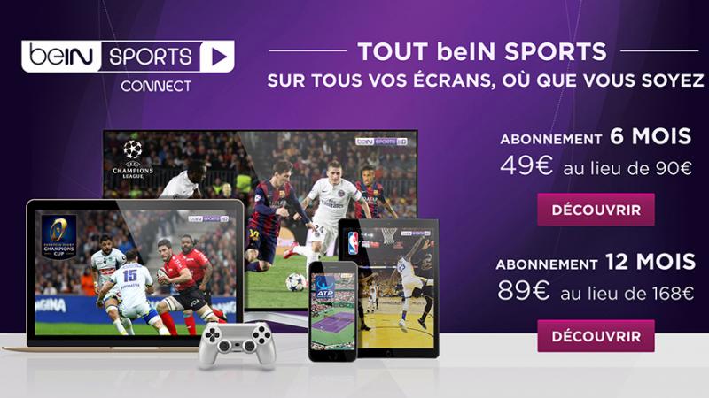 BeIN Sports lance une offre promo avec près de 50% de réduction