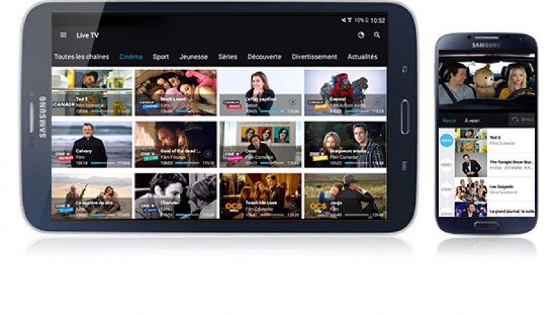 Nouvelle version de myCanal (Android) avec de nouvelles fonctionnalités : testez-la en avant première