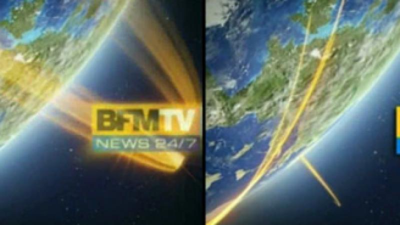 L'habillage de BFM TV