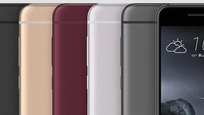 HTC dévoile officiellement le HTC One A9