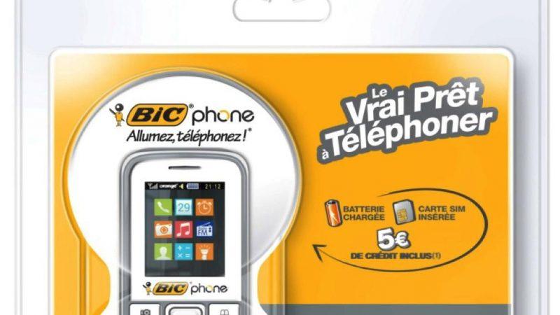 Orange et BIC lancent un tout nouveau BICphone