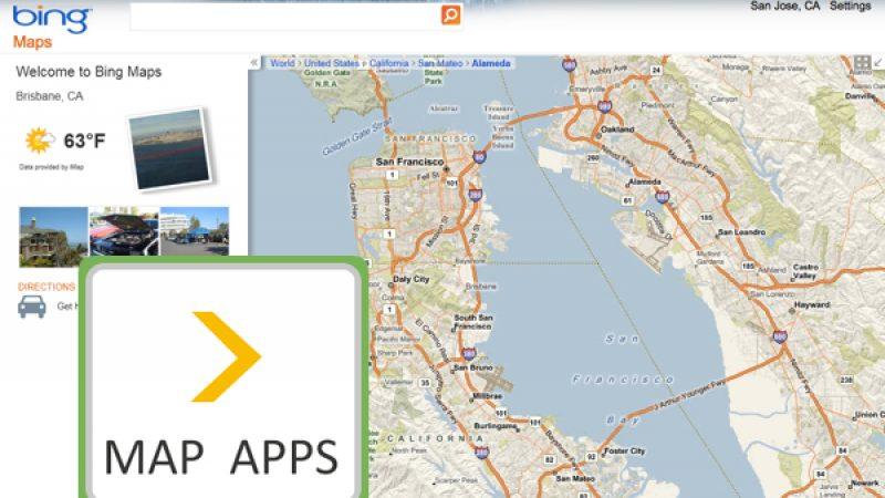 Bing améliore son service de cartographie