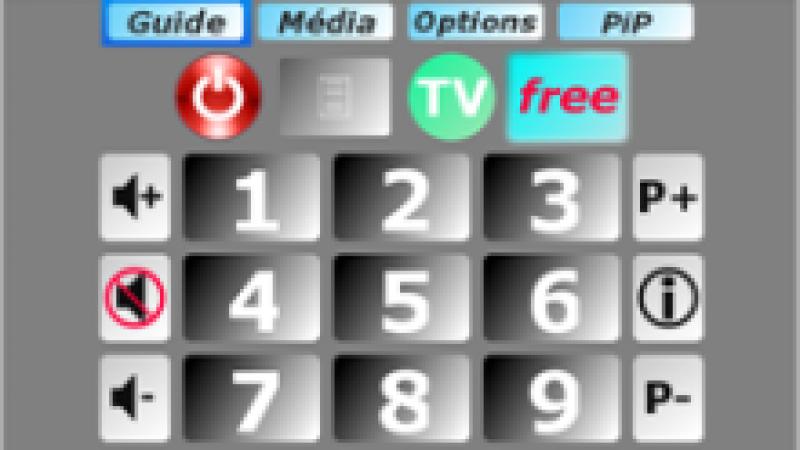 Mise à jour pour Freebox Controller, une télécommande  virtuelle pour Blackberry