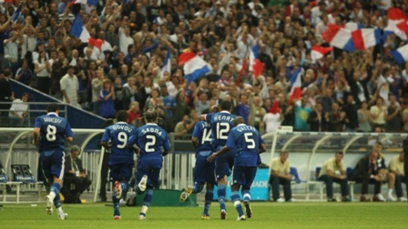 Record d'audience pour France/Serbie sur TF1