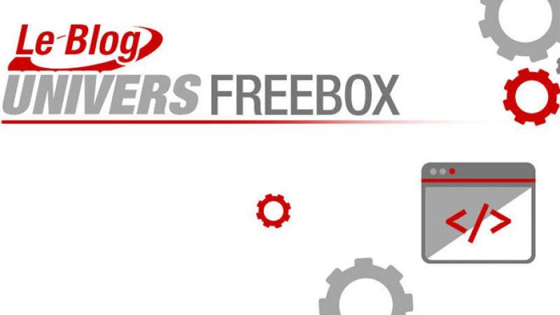 Lancement du « Blog Univers Freebox », pour suivre toute l'actualité, les nouveautés, et corrections d'Univers Freebox