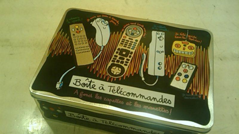 Clin d'œil : La télécommande de la Freebox mise en boite