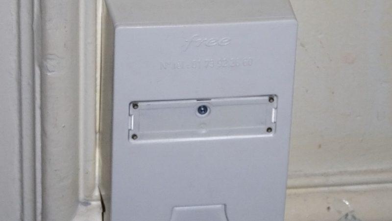 [Màj 2] Fibre : Photos d'une prise optique Free