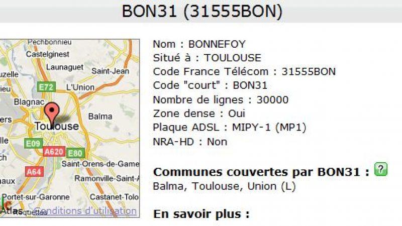 Perte de connexion pour les freenautes à Toulouse