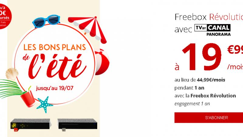 """Free lance ses """"bons plans d'été"""" pour les offres Freebox"""