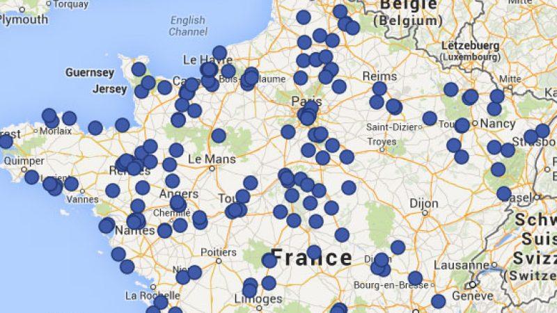 Plus de 250 points de vente Free Mobile répartis sur toute la France