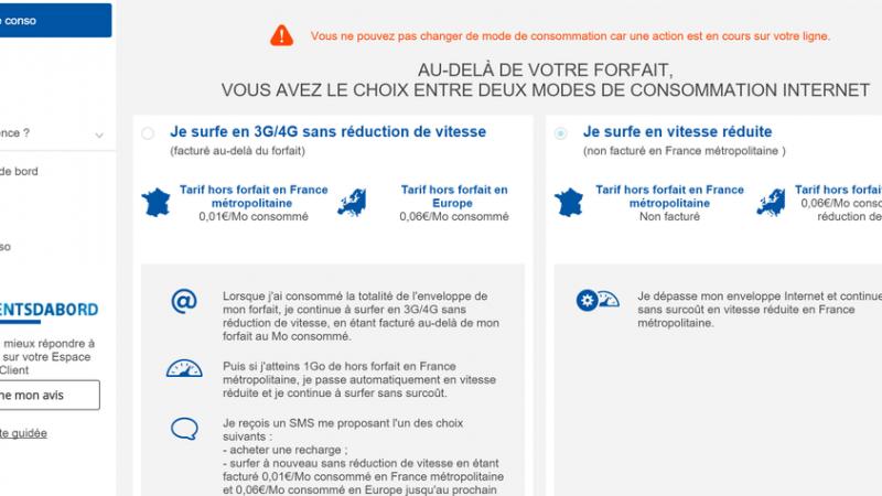 Bouygues Télécom facture désormais le hors forfait data à ses abonnés, mais propose une option de blocage