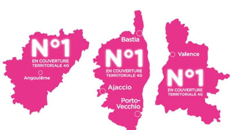 Bouygues Télécom annonce couvrir 77% de la population en 4G et être 1er dans plusieurs départements