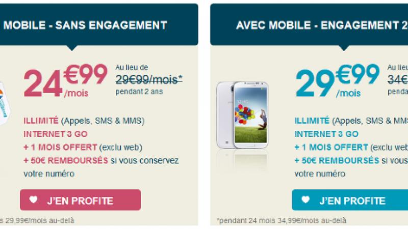 4G : Bouygues Télécom lance une vente flash sur son forfait Sensation 3Go