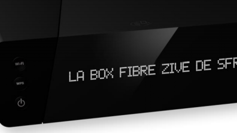 La nouvelle box SFR sera proposée à 57,99€/mois