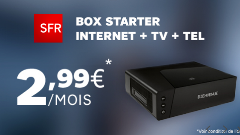 SFR réplique à la Vente Privée Freebox avec une offre sur Showroom Privé à partir de 2,99€/mois