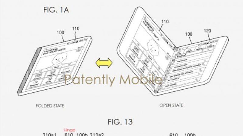 Les écrans de smartphones pliables, c'est pour bientôt ?