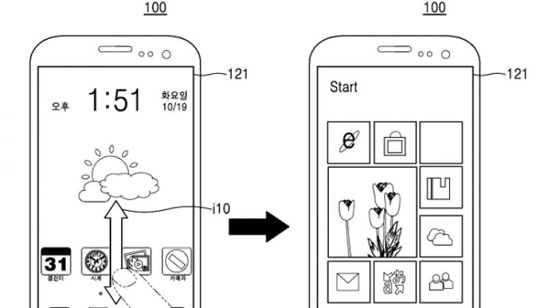 Samsung publie un brevet pour un smartphone sous Android et Windows