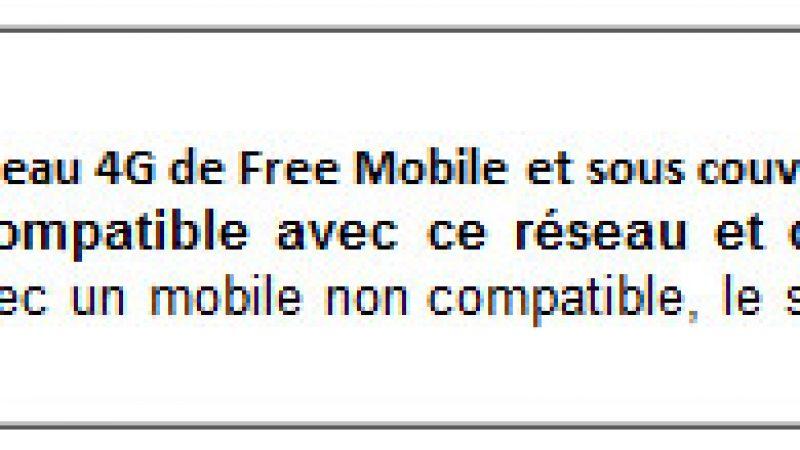 Free Mobile : Précisions sur l'utilisation des 20 Go de fair use en 3G et 4G