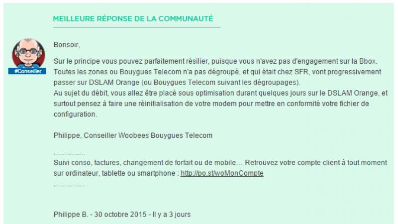 Après Free Mobile, Bouygues Télécom signe un contrat d'itinérance avec Orange, mais dans le fixe