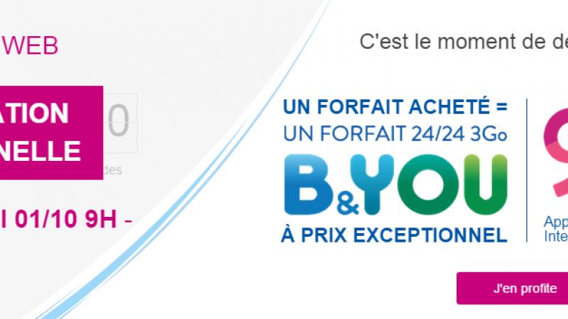 Bouygues Télécom prolonge ses offres promotionnelles sur une ligne supplémentaire