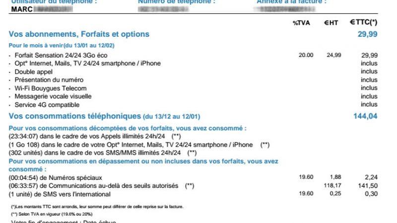 Tous les forfaits illimités ne se valent pas, un abonné Free Mobile qui a tenté Bouygues en a fait la chère expérience
