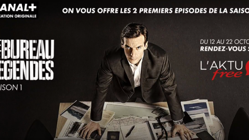 Canal+ et Free vous offrent les deux premiers épisodes de la série Le bureau des légendes