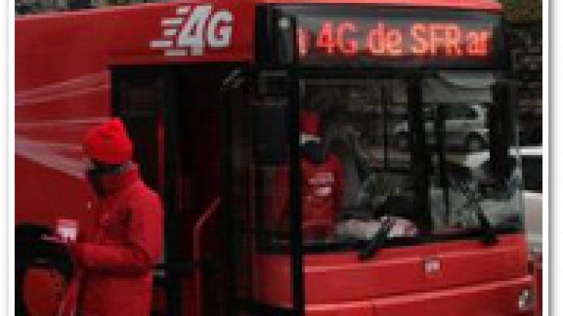 Bus 4G SFR : L'opérateur inaugure son réseau 4G à Toulouse. Et les autres ?