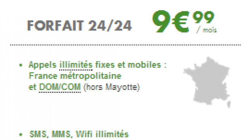 B&You prolonge son offre Voix/SMS/MMS illimités à 9,99 €