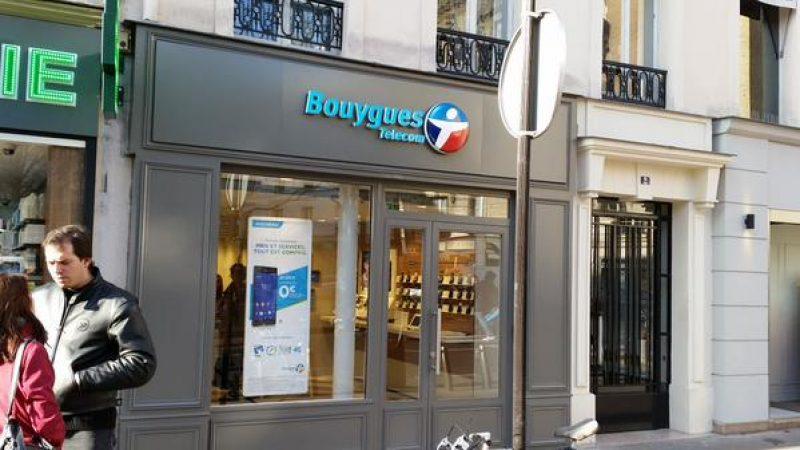 Clin d'œil : Quand une boutique Bouygues Télécom reprend la couleur des Free Centers