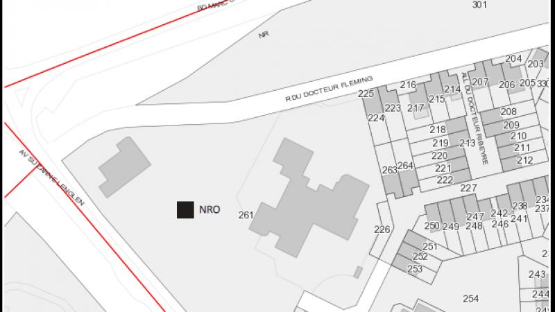 Fibre optique : Aulnay-sous-bois autorise SFR à implanter son NRO