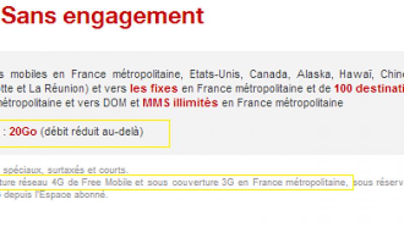 """Frank Cadoret (SFR) : """"les 20 Go de Data chez Free ne sont que sous une antenne 4G !"""" Ignorance ou mensonge délibéré ?"""