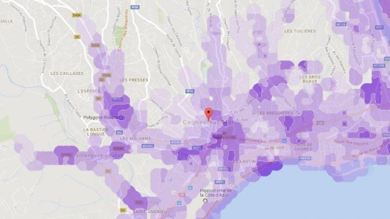 Couverture et débit 4G Free Mobile : Focus sur Cagnes-sur-Mer