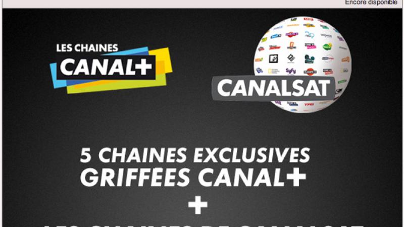 Lancement de la Vente-Privée CanalSat et Canal+