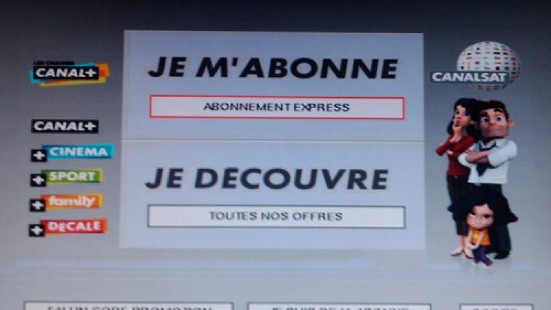 Freebox TV : Refonte totale de l'interface d'inscription à Canal+/Canalsat