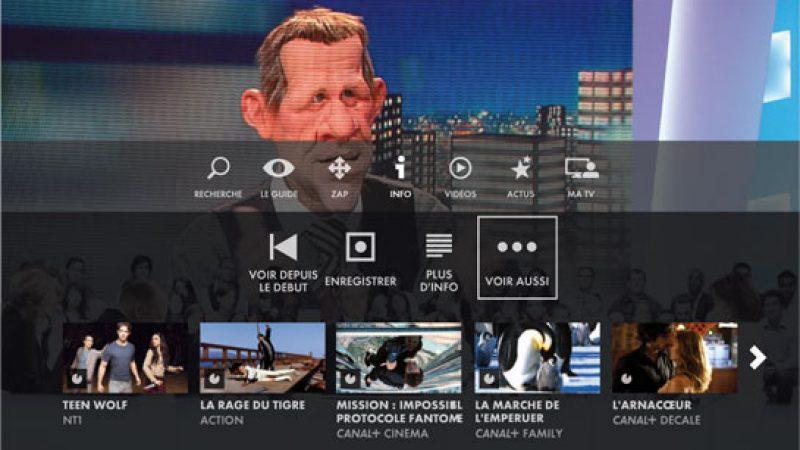 Canalsat déploie sa nouvelle interface, mais pas encore sur les box