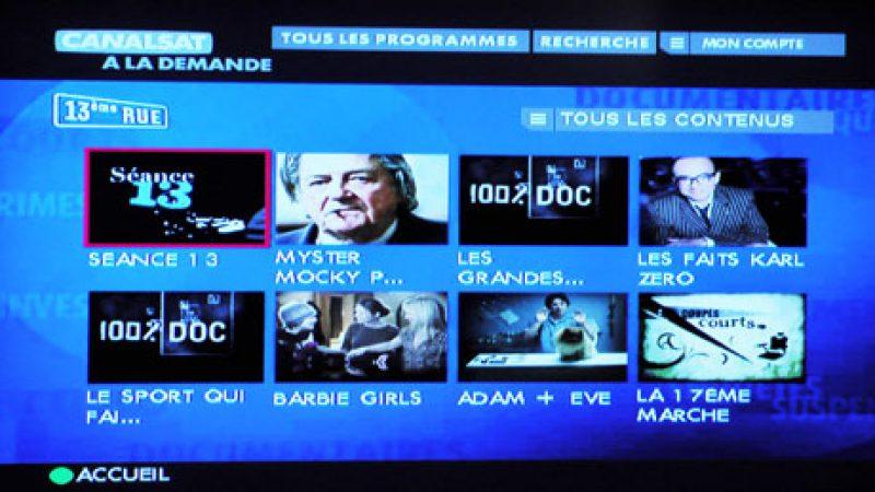 13ème Rue désormais disponible sur Canalsat à la demande