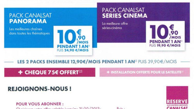 Offre promo : Canalsat frappe encore plus fort