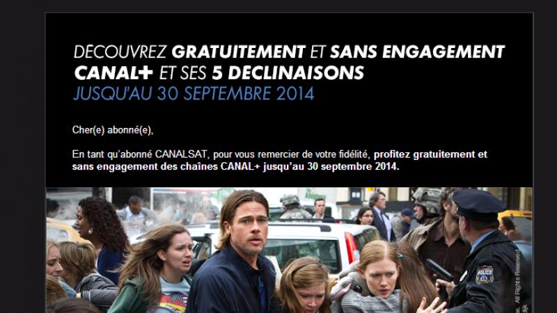 Les chaînes Canal+ gratuites sur la Freebox en septembre pour certains abonnés