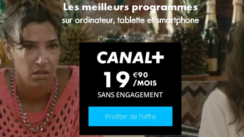 Canal+ lance sa nouvelle offre à 19,90€/mois sans engagement : découvrez les détails