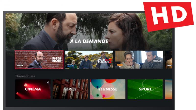 Canal améliore la qualité de la HD pour les programmes en replay via la Freebox