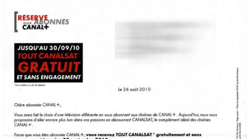 Tout Canalsat gratuit pour les freenautes abonnés à Canal+