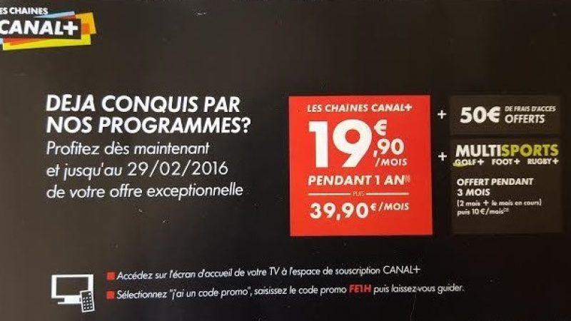 Pour commencer l'année, Canal+ propose une nouvelle offre promotionnelle aux freenautes