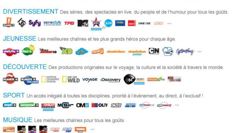 Freebox : Canal Sat Panorama et Serie Cinéma à 12€/mois + chèque de 100€