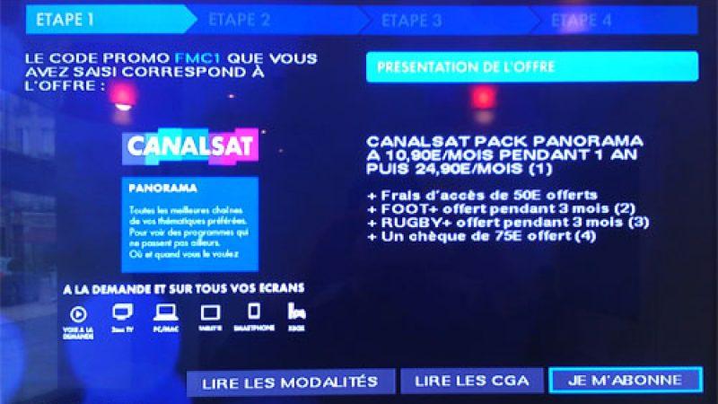 Canalsat : Une offre sur Freebox encore plus intéressante que sur Vente-Privée