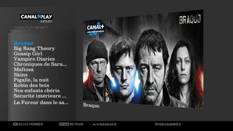 CanalPlay Infinity : lancement prévu le 12 décembre sur Freebox