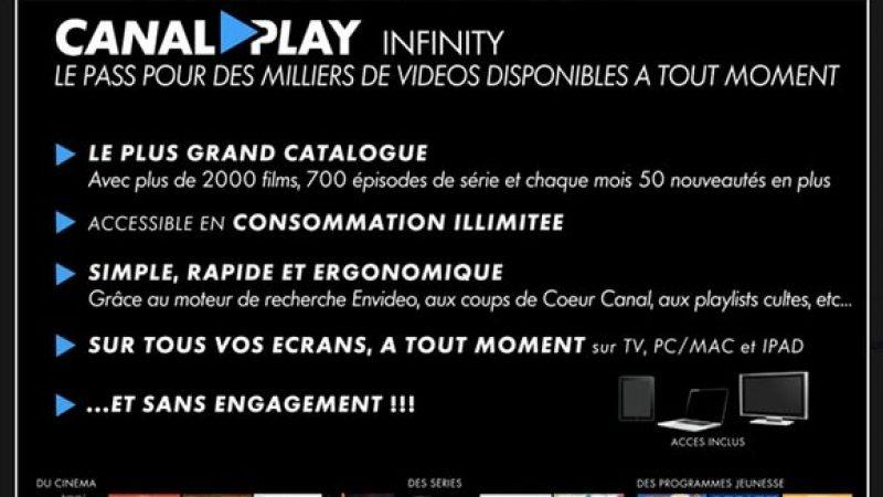 Le nouveau forfait VOD de Canal+ lancé dans une semaine chez SFR et d'ici 1 ou 2 mois chez Free