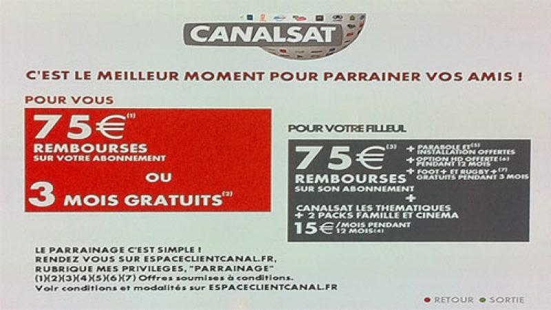 Nouvelles offres et nouvelle chaîne « parrainage » dans l'univers Canal+ et Canalsat